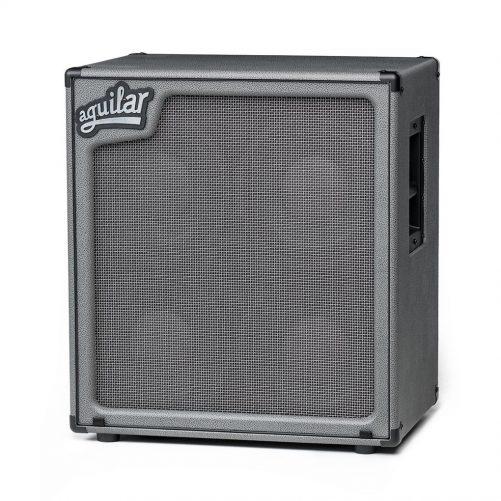 "Aguilar Speaker Cabinet ""Dorian Gray"" SL Series Lightweight 410 8ohm SL410XDG"