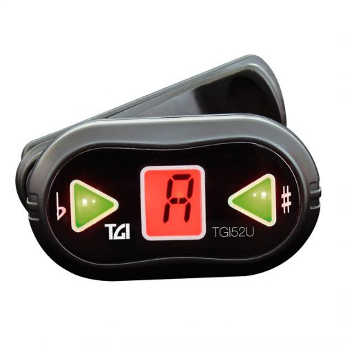 TGI Tuner Ukulele Digital Clip On Tuner TGI52U