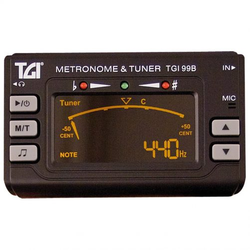 TGI Tuner Chromatic Tuner/Metronome with Clip On Mic. TGI99B