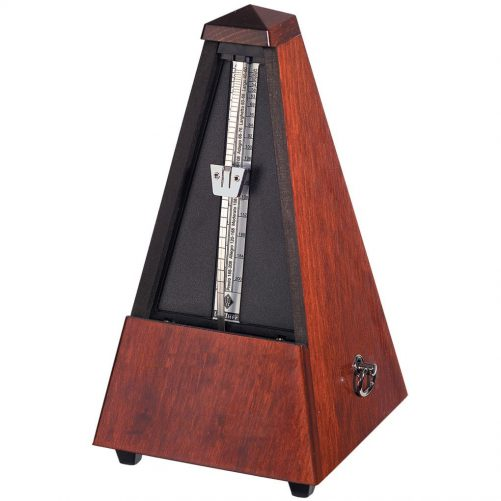 Wittner Metronome. Wooden. Mahogany Colour. Highly Polished W801