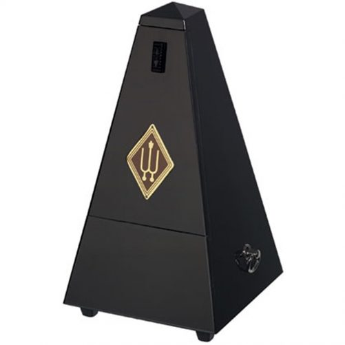 Wittner Metronome. Wooden. Black Matt Silk W806M