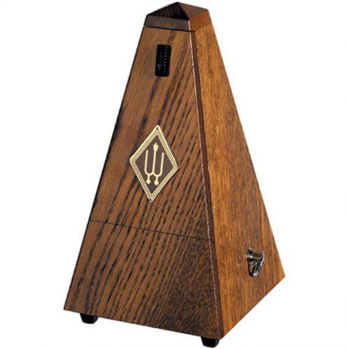 Wittner Metronome. Wooden. Brown Oak Matt Silk W808