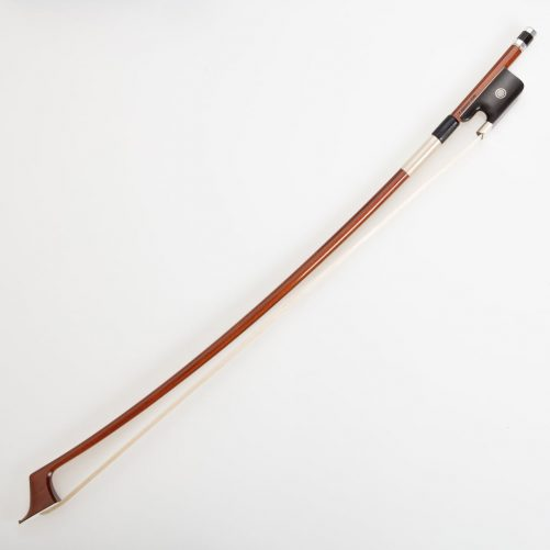 V.Schaeffer Double bass bow with Parisian eye and Pernambuco stick