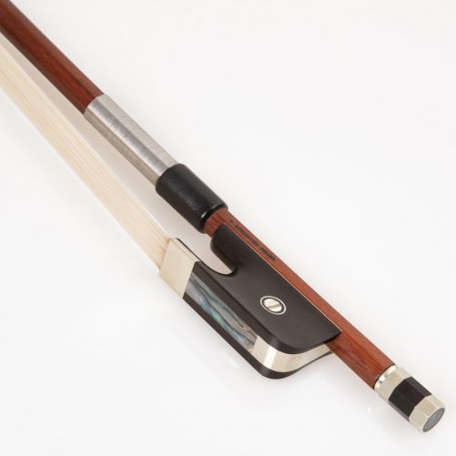 V.Schaeffer Double Bass bow with detailed Parisian eye