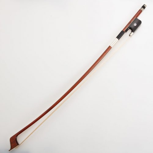 G.Werner 3/4 double bass bow with large pearl eye