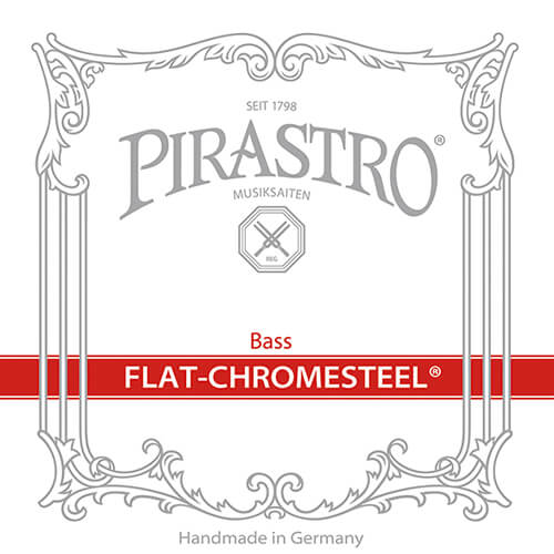 Pirastro Flat Chromesteel Solo Double Bass Strings