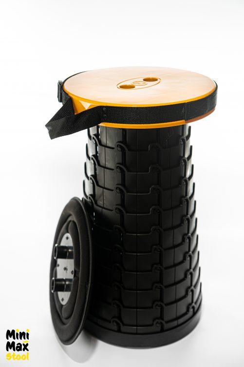 Mini Max stool yellow