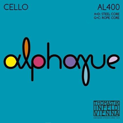 Alphayue Cello Set of Strings 4/4 Medium