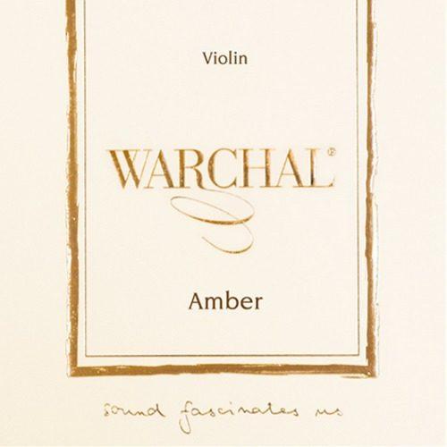 Amber Violin Set of Strings 4/4 Medium Ball