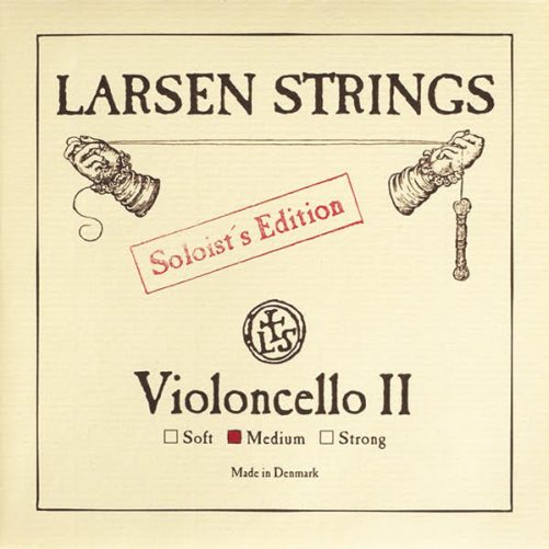 Larsen Soloist Cello D String 4/4 Low