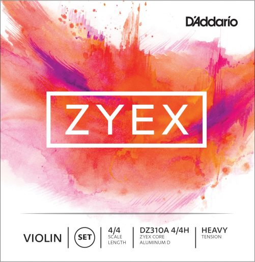 Zyex Violin Set of Strings 4/4 High