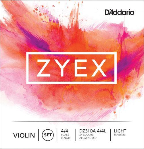 Zyex Violin Set of Strings 4/4 Low