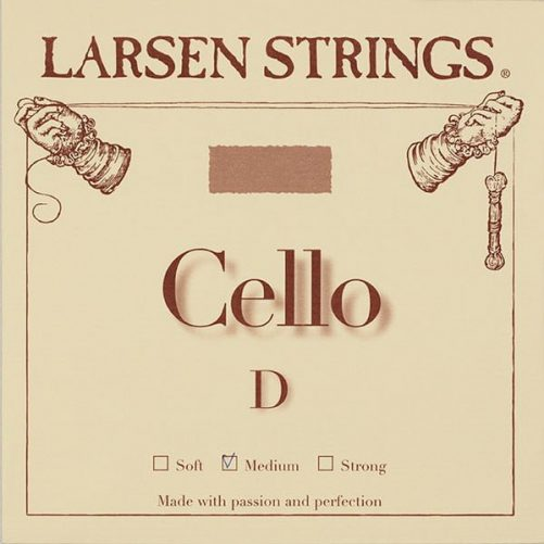 Larsen Cello D String 3/4 Medium