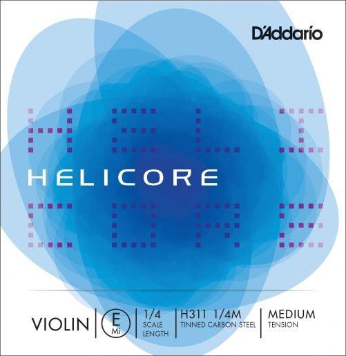 Helicore Violin E String 1/4 Medium