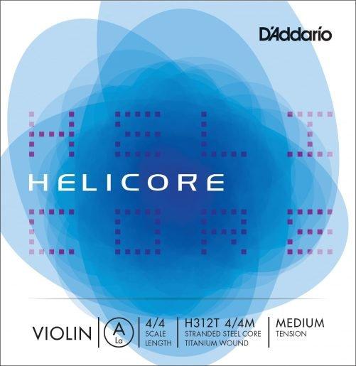 Helicore Violin A String 4/4 Medium Titanium