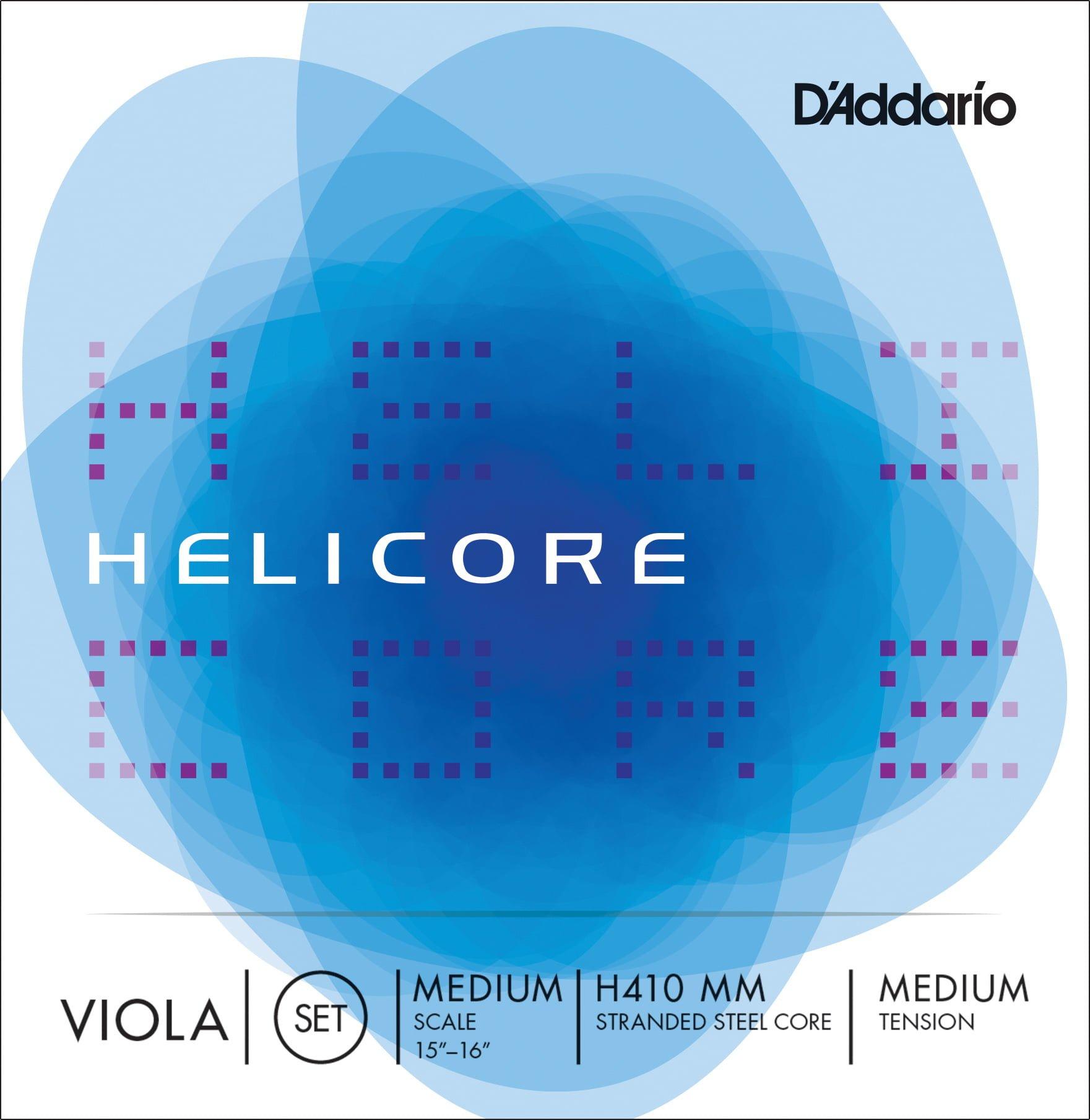 Helicore Viola Set of Strings 36cm Medium