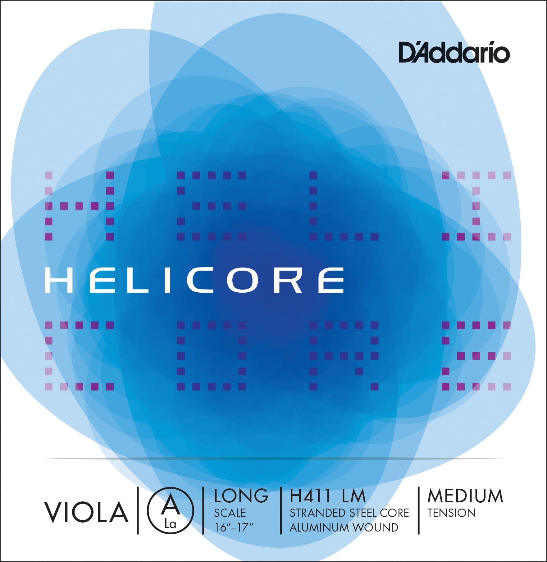 Helicore Viola A String 38cm Medium
