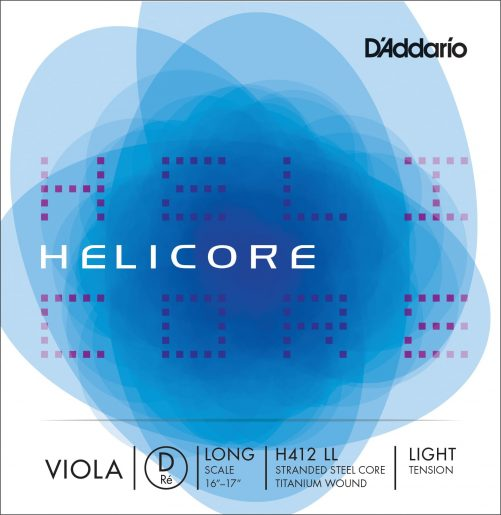 Helicore Viola D String 38cm Low