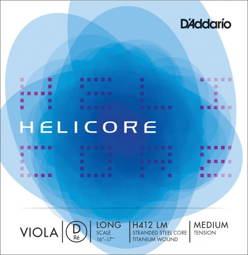 Helicore Viola D String 38cm Medium