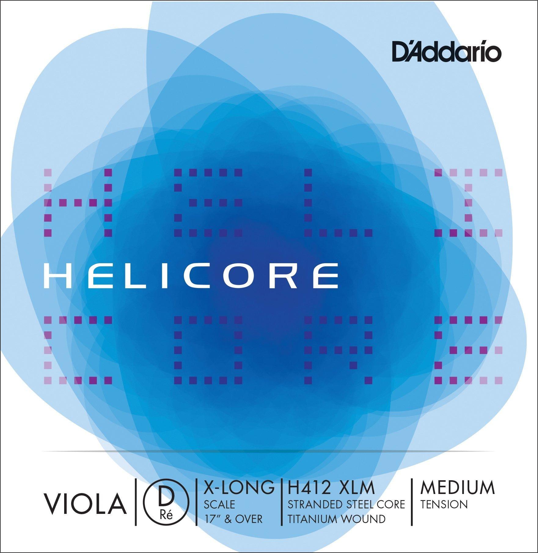 Helicore Viola D String 40cm Medium