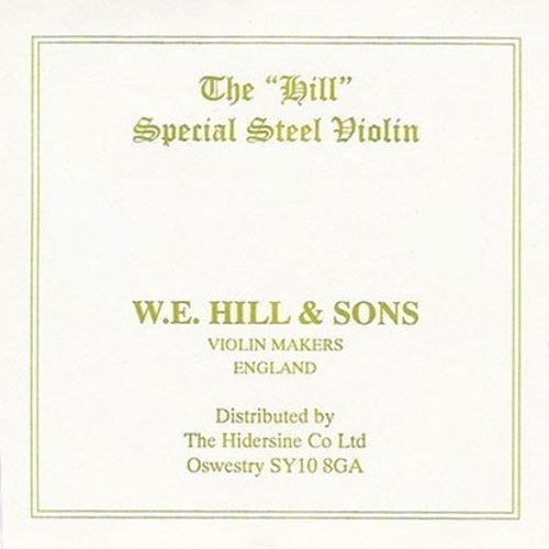 Hill Special Violin E String 4/4 High Loop