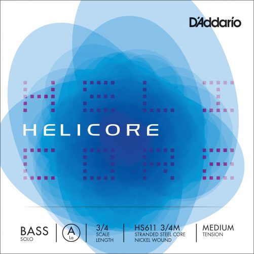 Helicore Double Bass Solo A1 String 3/4 Medium