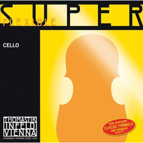 SuperFlexible Cello Set of Strings 4/4 Low