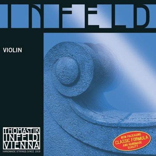 Infeld Blue Violin G String 4/4 Medium Ball Silver