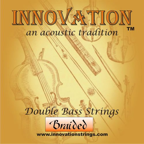 Braided Double Bass Set of Strings 3/4 Medium