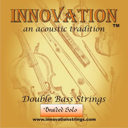 Braided Solo Double Bass Set of Strings Solo Tuning