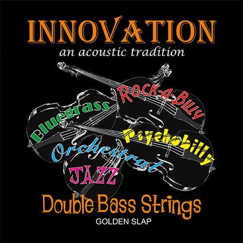 Golden Slap Double Bass Set of Strings 3/4 Low