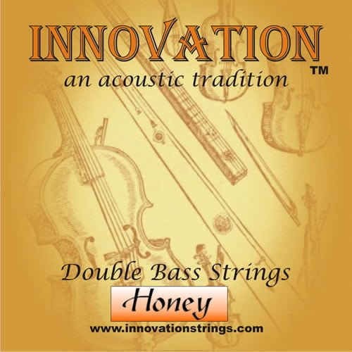 Honey Double Bass Set of Strings 3/4 Medium