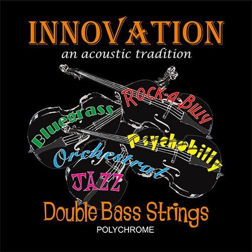 Polychrome Double Bass Set of Strings 3/4 Medium