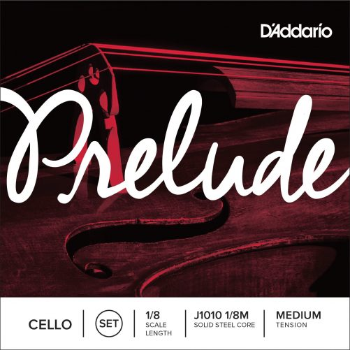 Prelude Cello Set of Strings 1/8 Medium