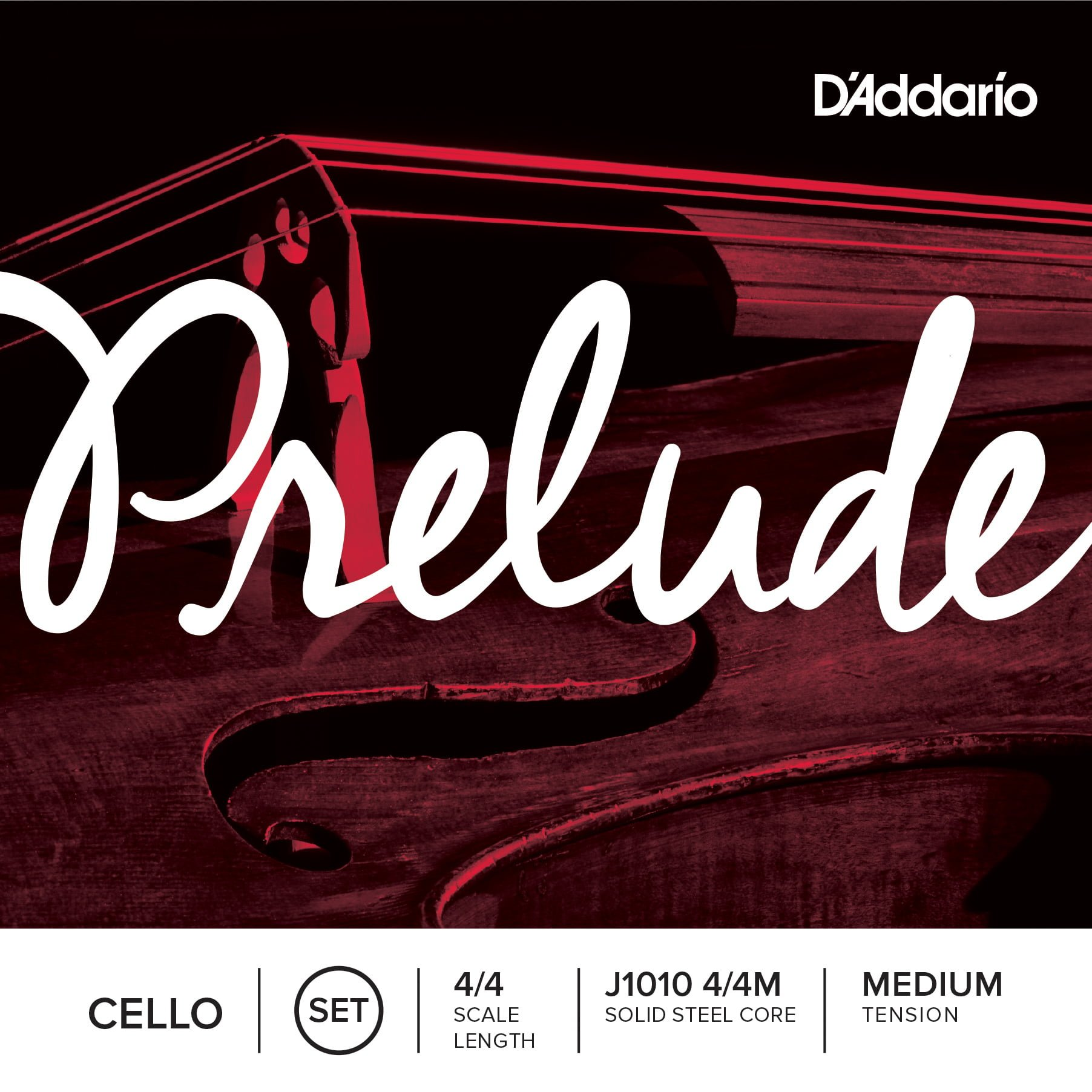 Prelude Cello Set of Strings 4/4 Medium