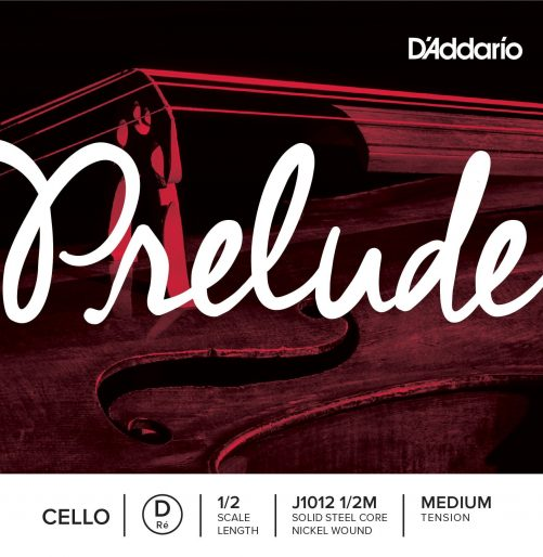 Prelude Cello D String 1/2 Medium