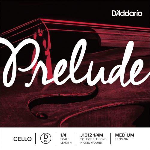 Prelude Cello D String 1/4 Medium