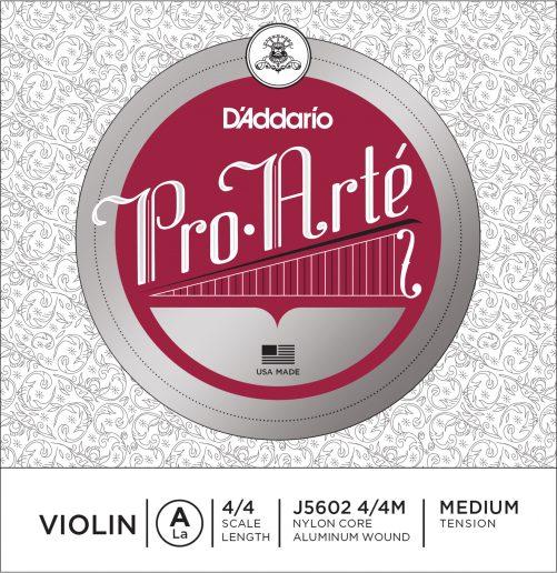 Pro Arte Violin A String 4/4 Medium