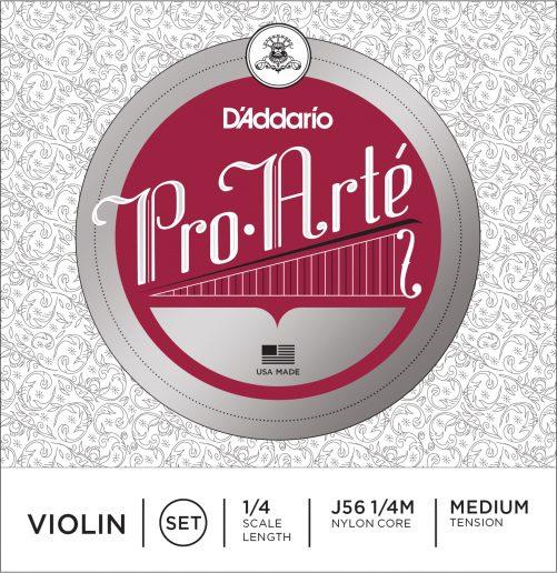 Pro Arte Violin Set of Strings 1/4 Medium