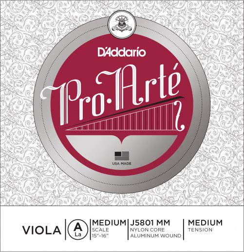 Pro Arte Viola A String 36cm Medium