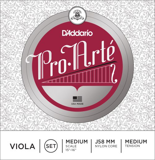 Pro Arte Viola Set of Strings 36cm Medium