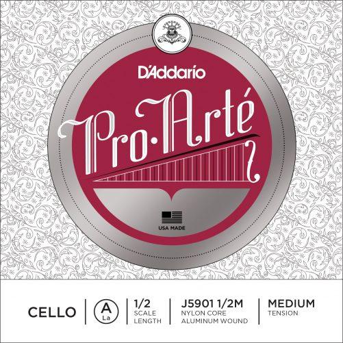 Pro Arte Cello A String 1/2 Medium