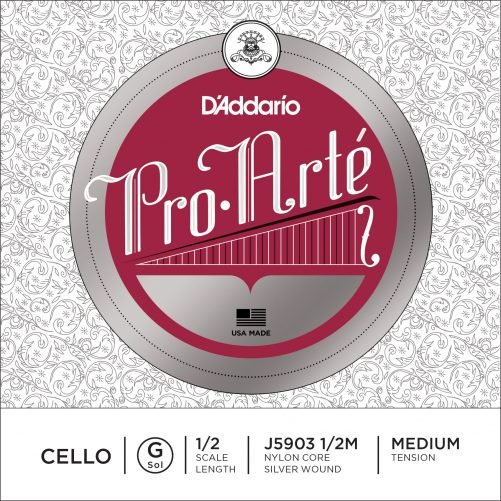 Pro Arte Cello G String 1/2 Medium