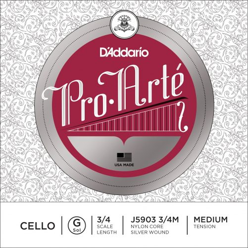 Pro Arte Cello G String 3/4 Medium