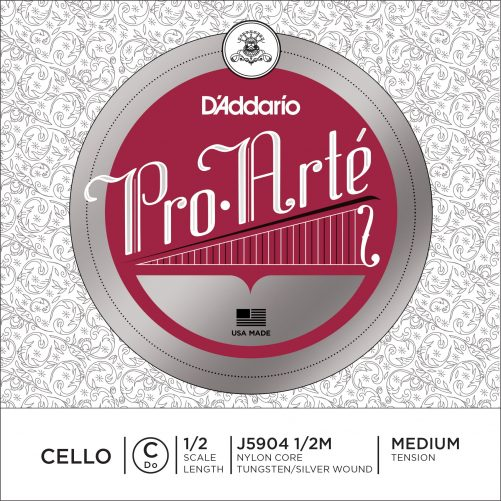Pro Arte Cello C String 1/2 Medium