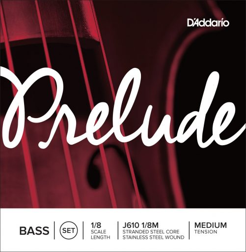 Prelude Double Bass Set of Strings 1/8 Medium
