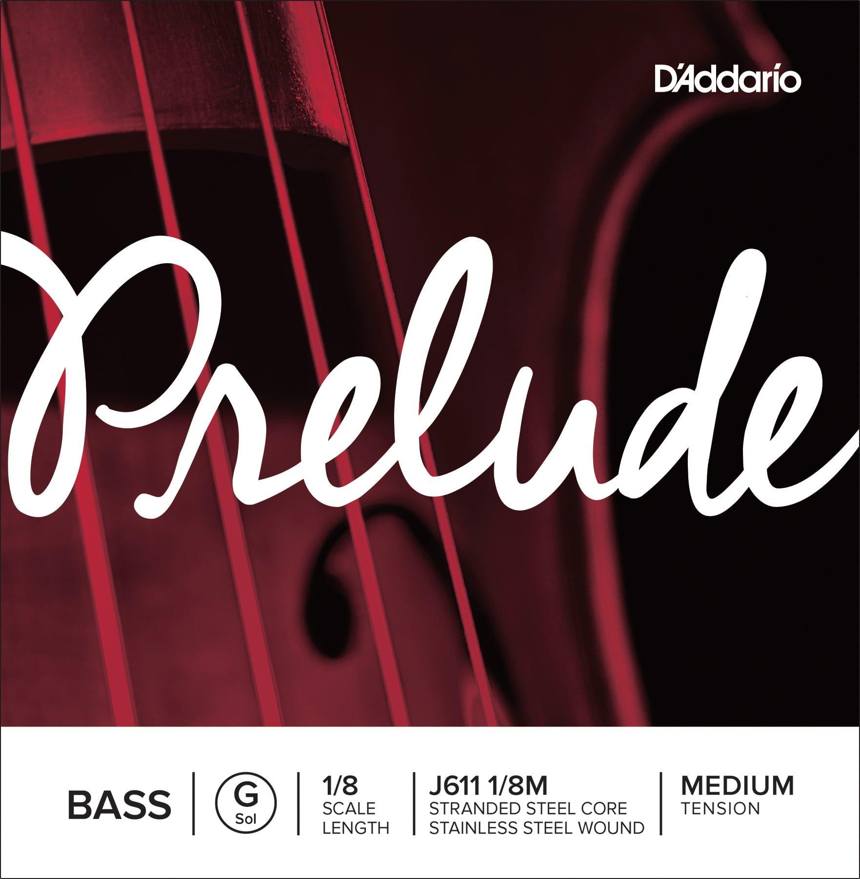 Prelude Double Bass G String 1/8 Medium