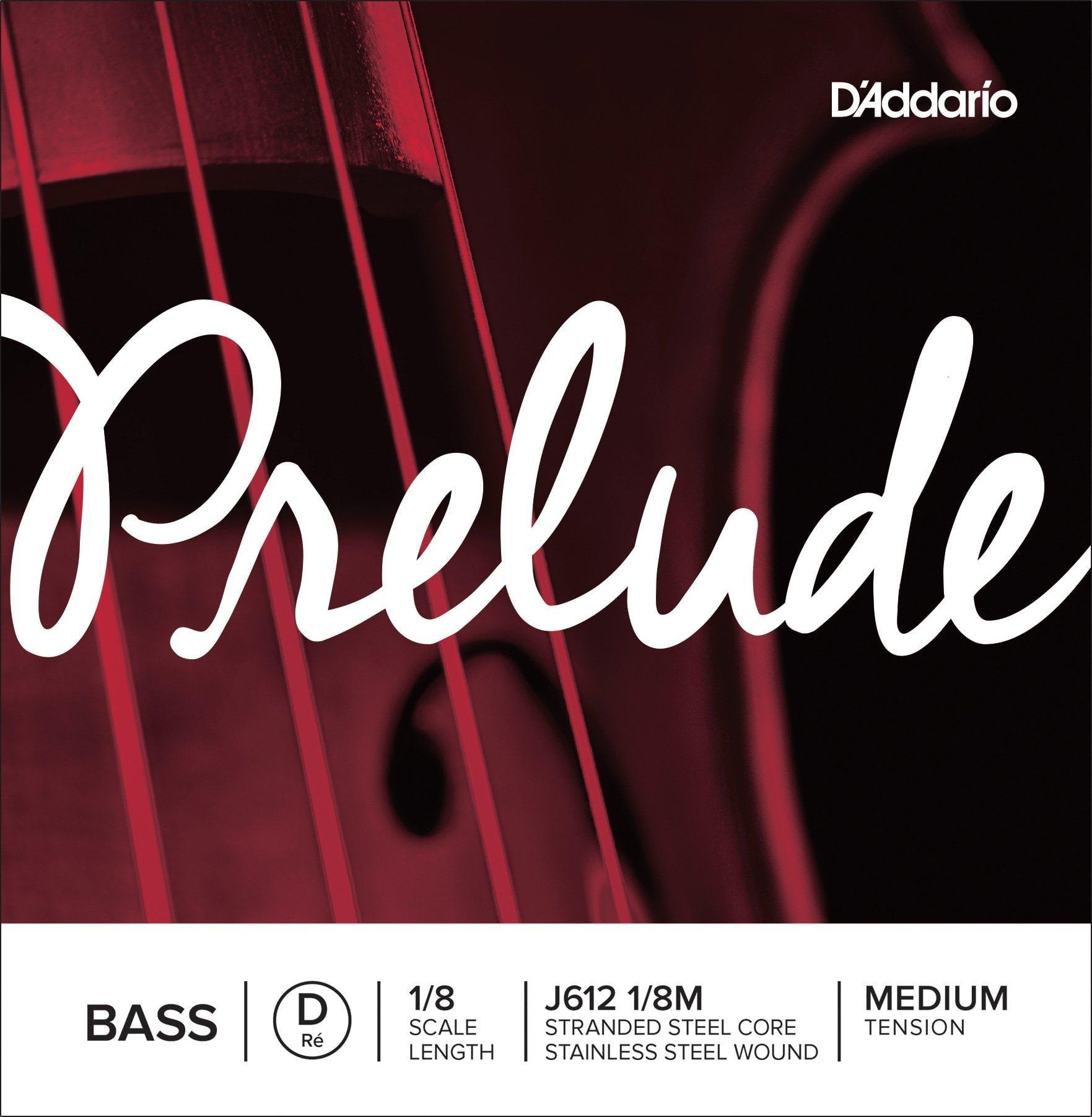 Prelude Double Bass D String 1/8 Medium