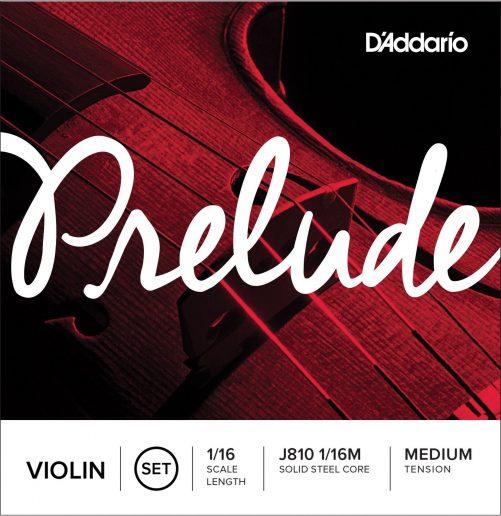 Prelude Violin Set of Strings 1/16 Medium