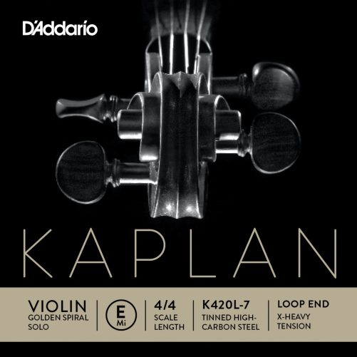 Kaplan Violin E String 4/4 X-High Loop